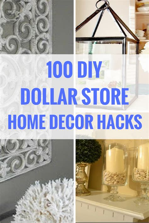 dollar store diy home decor ideas inexpensive home