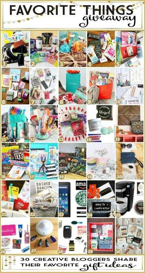 A Few Of Our Favorite Things Giveaway!  How Does She