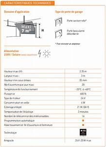 Moteur Porte Garage Basculante : moteur de porte de garage somfy gdk 700 et 3 t l commandes ~ Edinachiropracticcenter.com Idées de Décoration