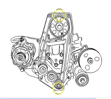 service manual  daewoo leganza timing chain alignment