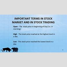 Stock Exchange Functioning & Vback Office Management