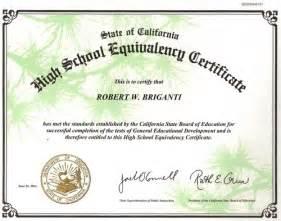 GED Certificate Copy