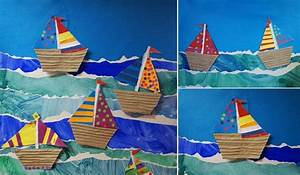 Origami Bateau à Voile : comment faire un bateau en papier quelques tutoriels ~ Dode.kayakingforconservation.com Idées de Décoration