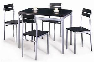 Table de cuisine pas cher 2017 et ensemble table chaise for Deco cuisine avec chaise de cuisine