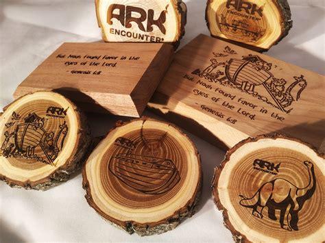 custom laser engraving takes  wood
