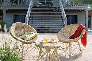 Salon Detente Jardin : mobilier les tressages envahissent le jardin d tente jardin ~ Premium-room.com Idées de Décoration