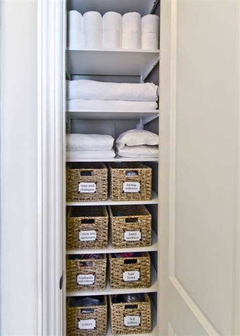 25 best ideas about linen closets on organize