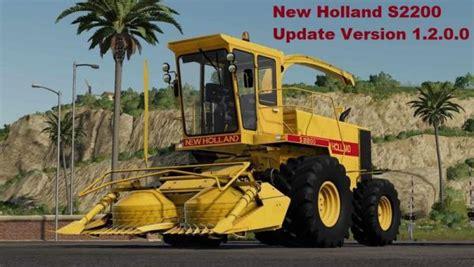 Fs19 New Holland S2200 V1200 Farming Simulator 19 17
