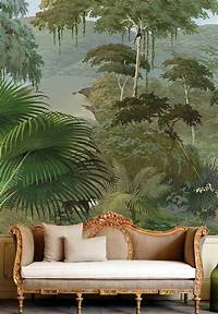 trending jungle wall mural Interior decorating design, ideas, inspirations, photos, DIY, home, bathrooms, kitchens, bedroom ...