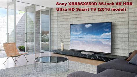 Fernseher 85 Zoll by Sony Xbr85x850d 85 Inch 4k Hdr Ultra Hd Smart Tv Deal On