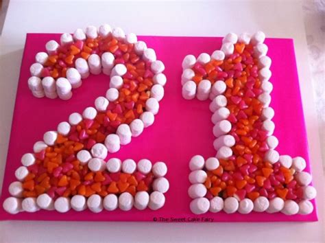 21st Birthday Cakes Dartford Pre Filled Sweet Cones