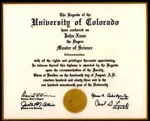 Opinions on Academic degree