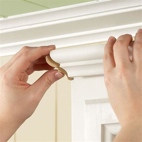 how to install crown moulding on kitchen cabinets 100 best diy molding trim and wainscoting images on 9764