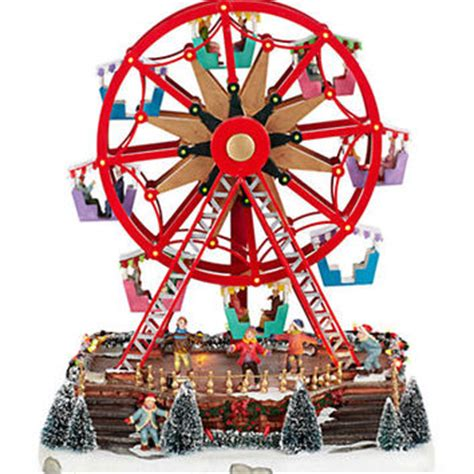 christmas decoration outdoor ferris wheel ciupa biksemad