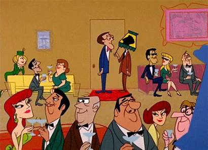 Party Cocktail Animated 1960s Cartoon Parties Gifs