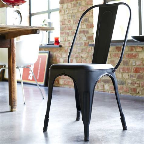 chaises style industriel salle de bain type industriel