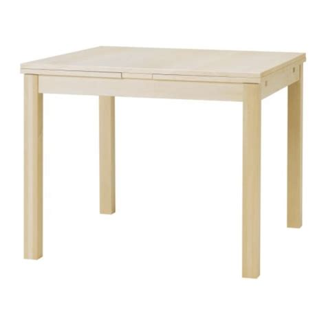 table cuisine ikea bjursta extendable table birch veneer ikea