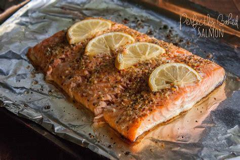 baking salmon perfectly baked salmon sweetphi
