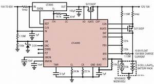 Ltc4000 Lifepo4 Battery Charger Circuit Design Circuit Diagram World