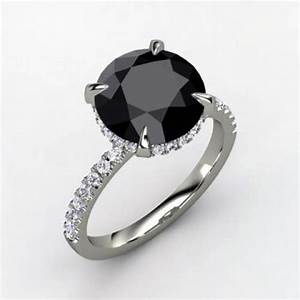 Black Diamond Rings Princess Cut - Inofashionstyle.com