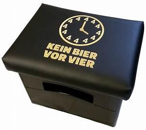 Uhr Kein Bier Vor Vier : lustige bier spr che bierkisten sitze ~ Whattoseeinmadrid.com Haus und Dekorationen