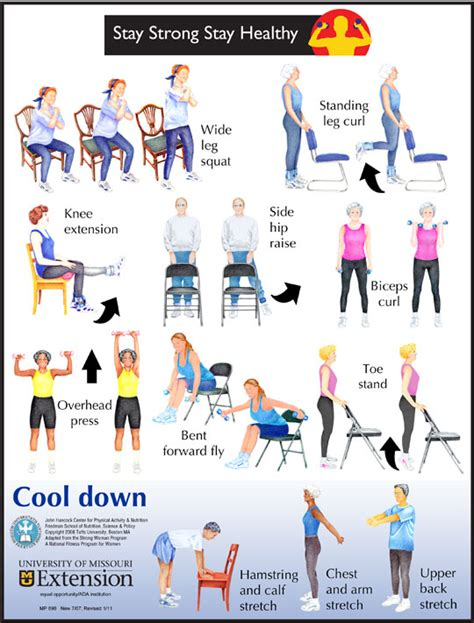 7 best images of printable exercises for elderly
