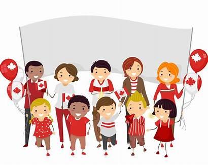 Canada Parade Canadian Culture Clip Multiculturalism Clipart