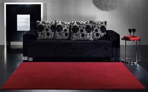 Canevas Pour Tapis : tapis canevas rouge pour un aspect soyeux et l gant univers du tapis ~ Farleysfitness.com Idées de Décoration