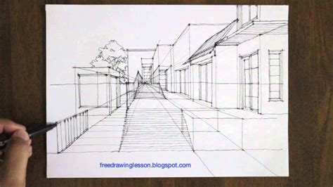 Street Perspective Drawing at GetDrawings.com
