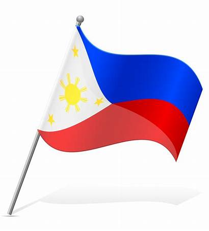 Flag Philippines Vector Illustration Philippine Clipart Graphics