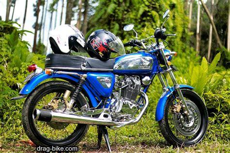 Modifikasi Motor Tua by 50 Foto Gambar Modifikasi Honda Cb 100 Klasik Style