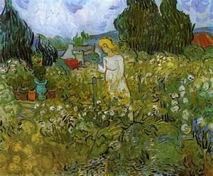 Plombier Auvers Sur Oise : mademoiselle gachet in her garden at auvers sur oise 1890 ~ Premium-room.com Idées de Décoration