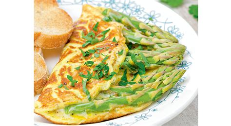 omelette aux asperges sauvages magazine