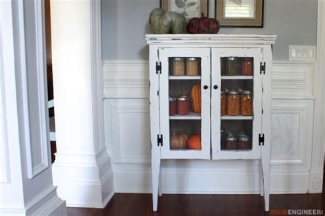 jelly cabinet  diy plans rogue engineer