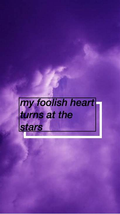 Aesthetic Purple Background Backgrounds Quotes Wallpapers Grunge