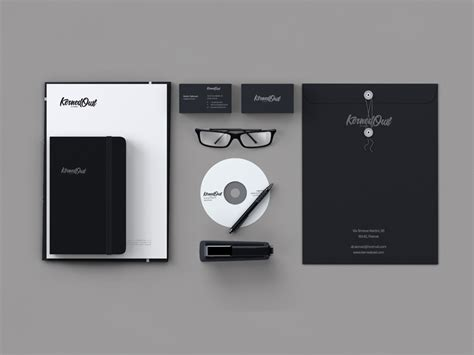 creative examples  stationery designs design bump