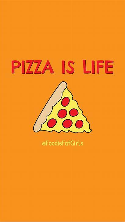Phone Wallpapers Pizza Foodie Iphone Rolls Fat