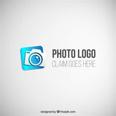 blue photogfraphy logo vector premium download