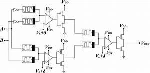 Circuit Diagram Of Xor Gate Using Memristor U2010based