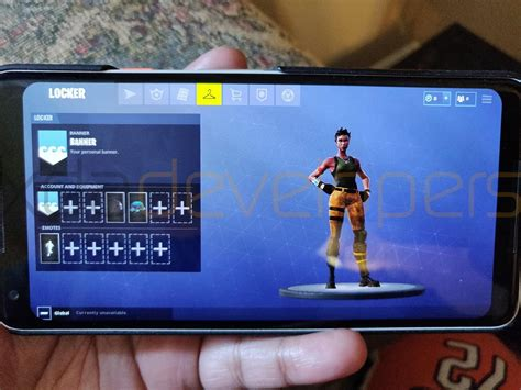 exclusive fortnite mobile  android gameplay