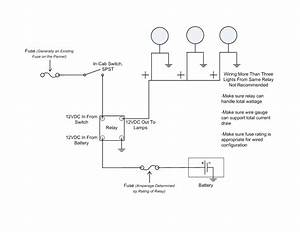 Off Road Light Wiring Diagram  With Images