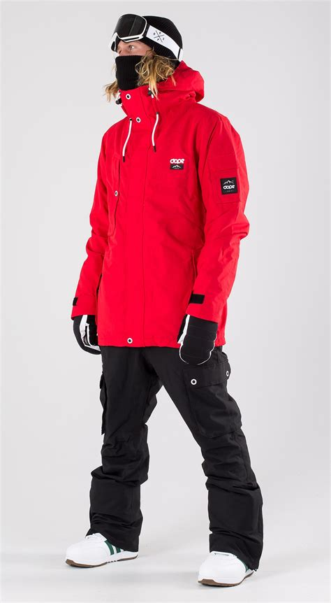 Dope Adept Red Snowboard Clothing Ridestore