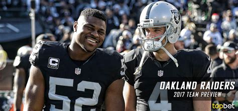 oakland raiders   team preview odds