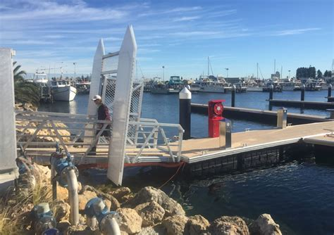 Boat Jetty Service by Fremantle Fbh Jetty 2 Redevelopment