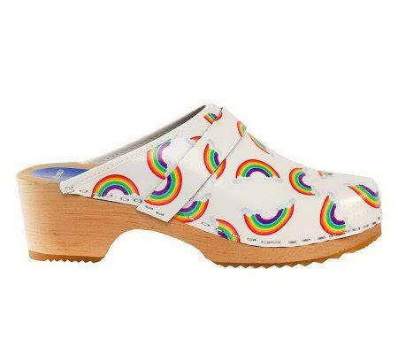 Cape Clogs Rainbows Style Clogs  A328614 — Qvccom