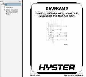 Hyster Class 2 C470 N25xmdr3 N30