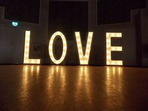 light up love letters With light up love letters