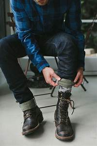 Blue Plaid Shirt With Cuffed Denim Jeans And Boots Pictures Photos and Images for Facebook ...