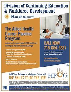 Job training programs brooklyn community board 14 for Allied health careers