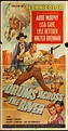 DRUMS ACROSS THE RIVER MOVIE POSTER 41x81 Three Sheet 1954 ...